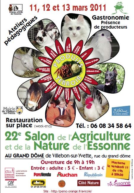 Le blog de zoelia ev nements for Nocturne salon agriculture